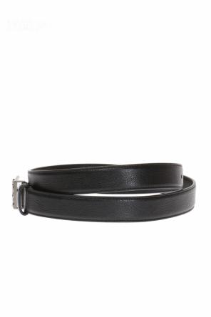 Logo-buckle belt od Saint Laurent Paris