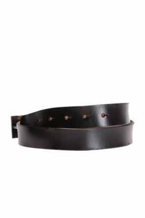 Belt with embossed buckle od Saint Laurent