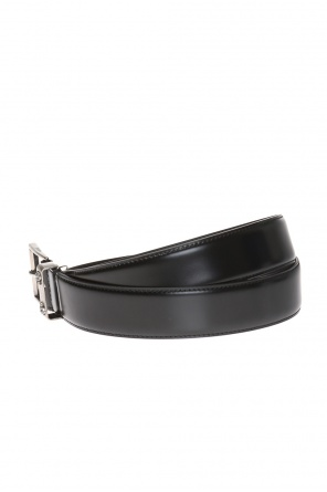 Logo belt with bee motif od Gucci