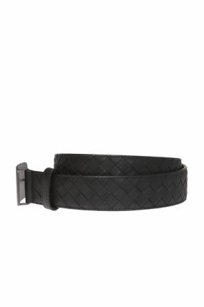Leather belt with buckle od Bottega Veneta