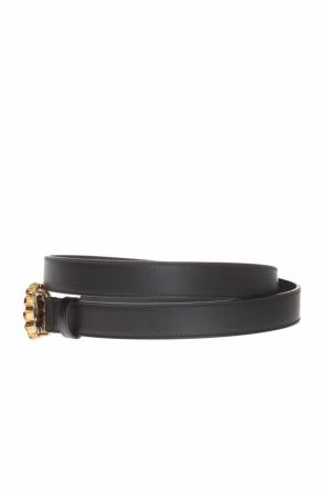 Belt with decorative buckle od Gucci