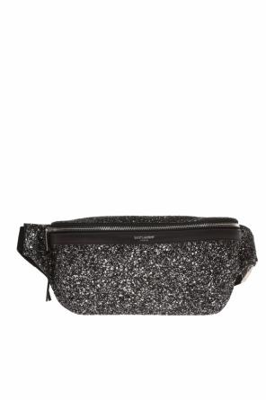 Glittered belt bag od Saint Laurent