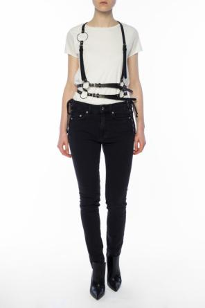 Leather harness od McQ Alexander McQueen