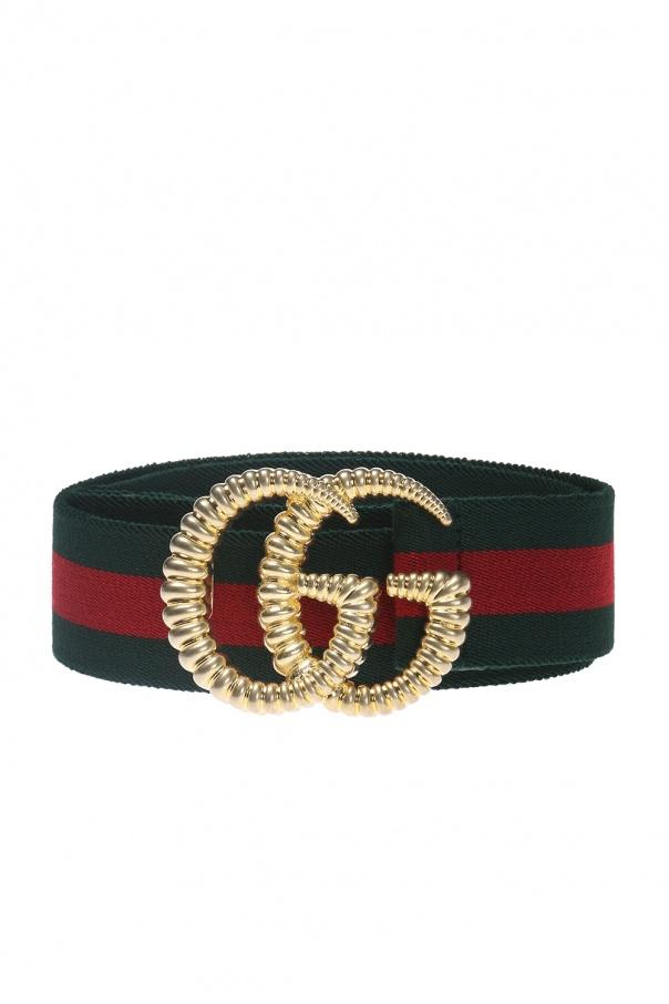 4ffce183461 Belt with a  Web  motif Gucci - Vitkac shop online