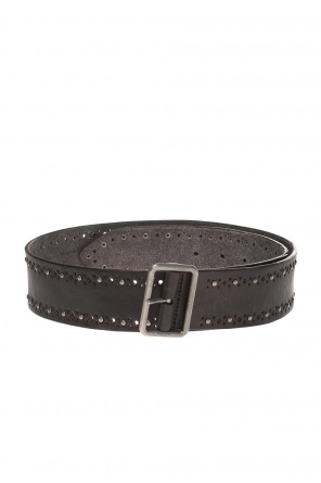 Belt with a perforated pattern od Saint Laurent