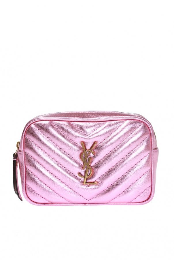 54741606fab Lou' quilted belt bag with logo Saint Laurent - Vitkac shop online