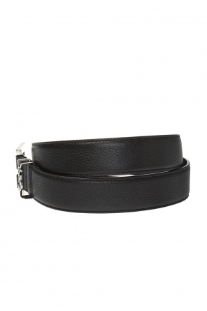 Branded leather belt od Saint Laurent
