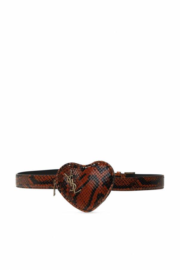 Saint Laurent Belt with pouch