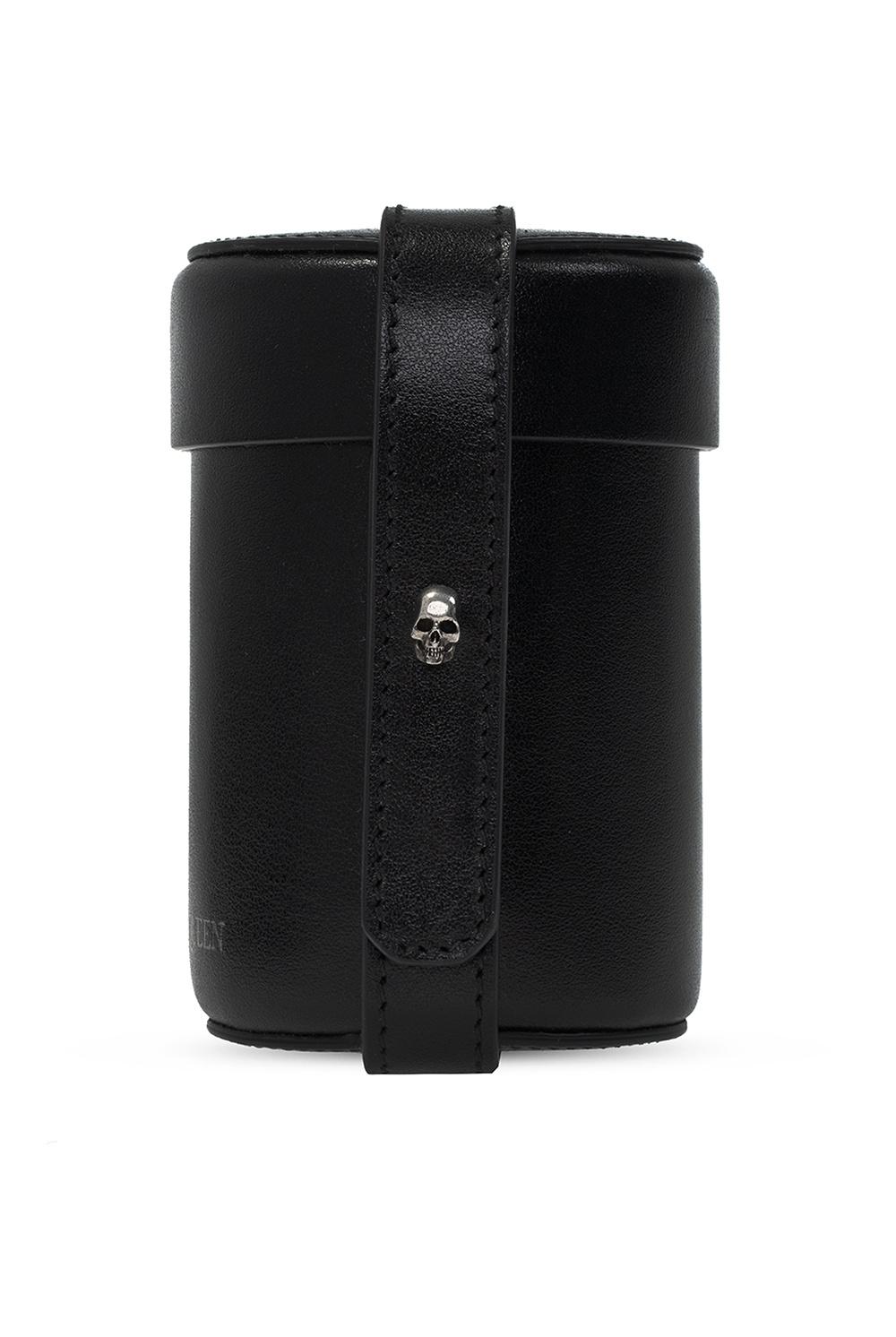 Alexander McQueen Appliquéd shoulder bag