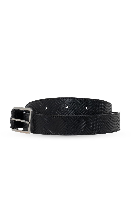 Bottega Veneta Leather belt with logo