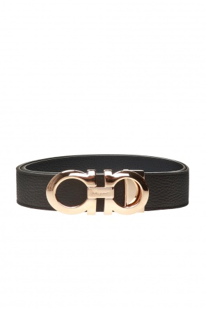 Reversible belt with logo od Salvatore Ferragamo