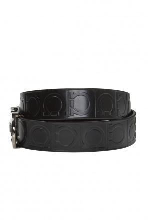 061eff07b Two-layered belt with gancini motif od Salvatore Ferragamo ...