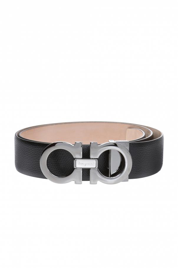 Belt with logo Salvatore Ferragamo - Vitkac shop online