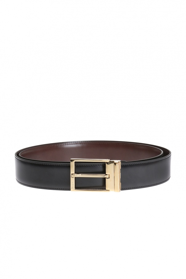 Salvatore Ferragamo Reversible belt with exchangeable buckles