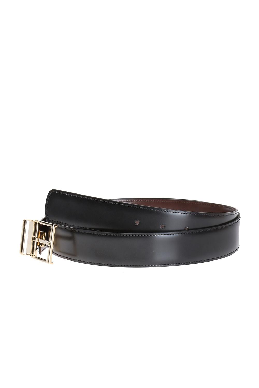 Salvatore Ferragamo Reversible belt with exchangeable buckles
