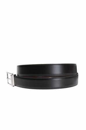 Belt with exchangeable buckle od Salvatore Ferragamo