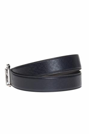 Logo-debossed belt od Salvatore Ferragamo