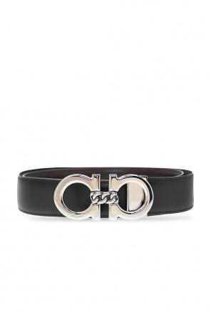 Reversible belt with logo od Salvatore Ferragamo