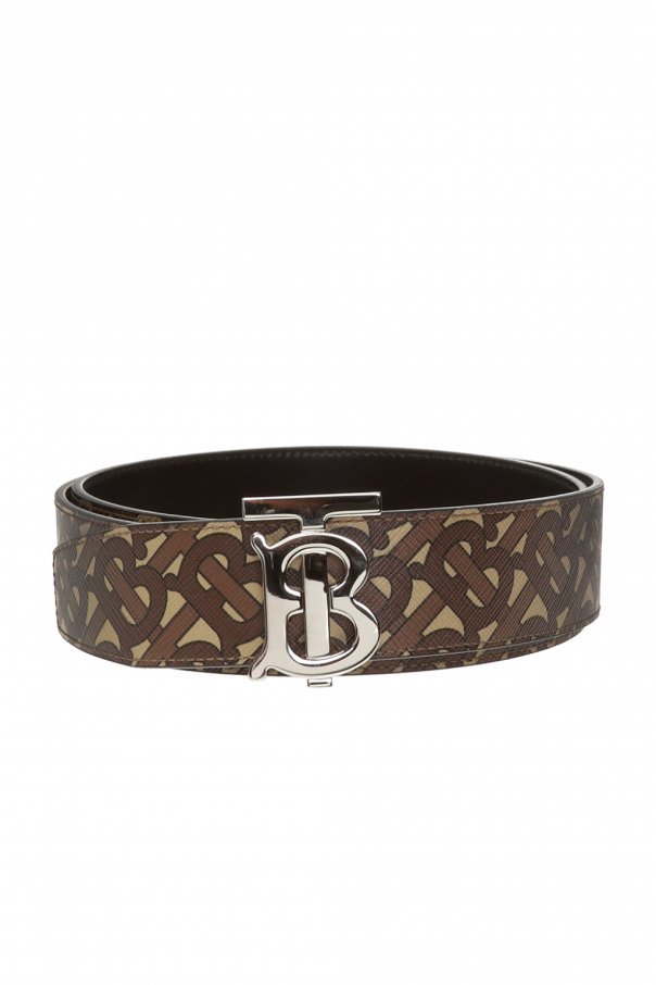 Burberry Patterned belt