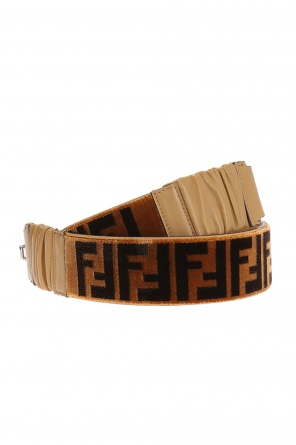 Logo belt od Fendi