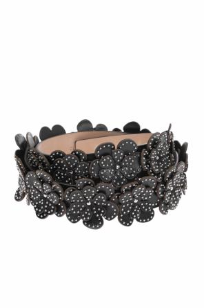 Belt with floral application od Alaia