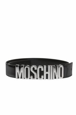 Belt with logo od Moschino