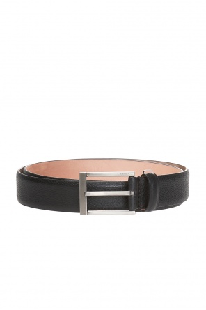 Logo-buckled belt od Lanvin