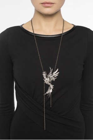 Bird head necklace od Lanvin