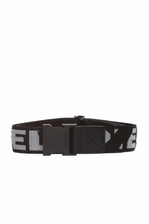 Patterned belt including a logo od Diesel