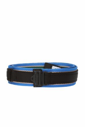 Belt with embroidered logo od Diesel