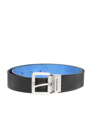 Reversible leather belt od Diesel