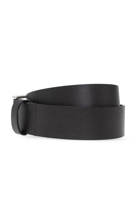 Diesel 'B-Dyte' belt with logo