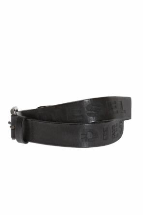 Logo-embossed belt od Diesel