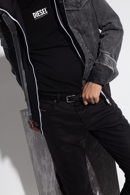 Diesel 'B-Marty' leather belt