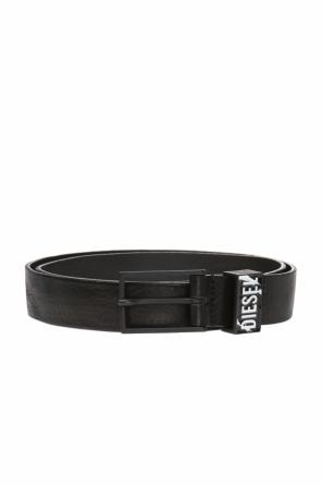Belt with insert including a logo od Diesel