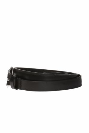 Belt with a decorative buckle od Diesel