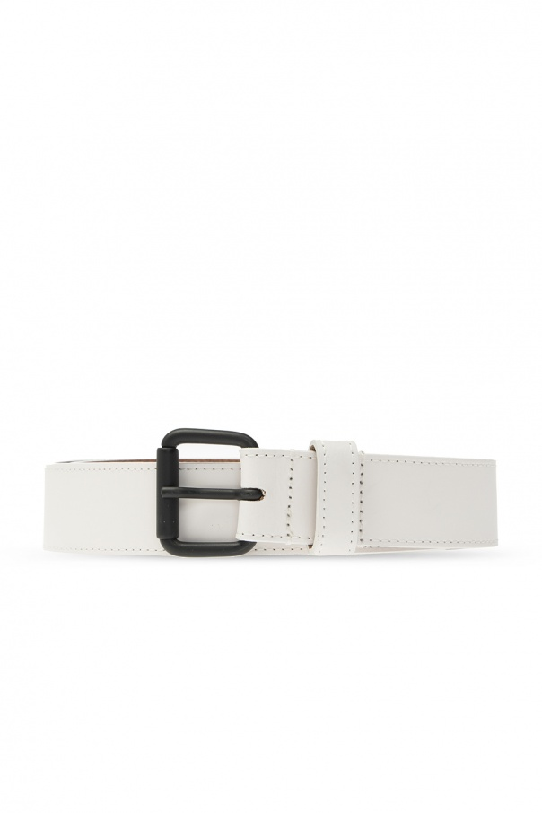 Diesel Leather logo belt