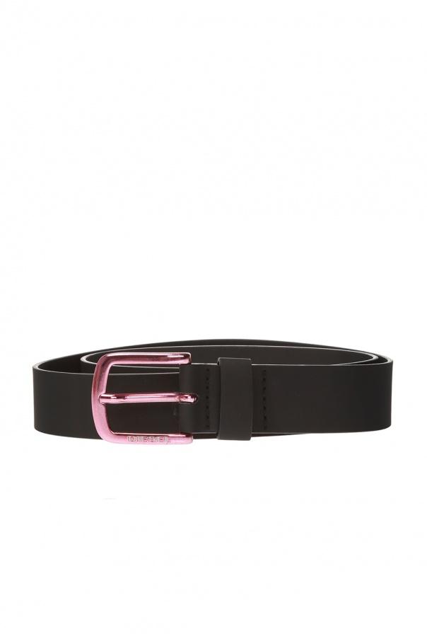 Diesel Logo-buckled belt