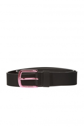 Logo-buckled belt od Diesel