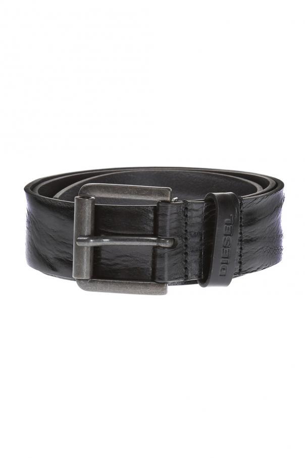 Diesel Leather Belt