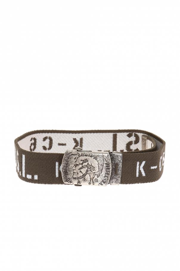 Diesel Kids Embroidered belt