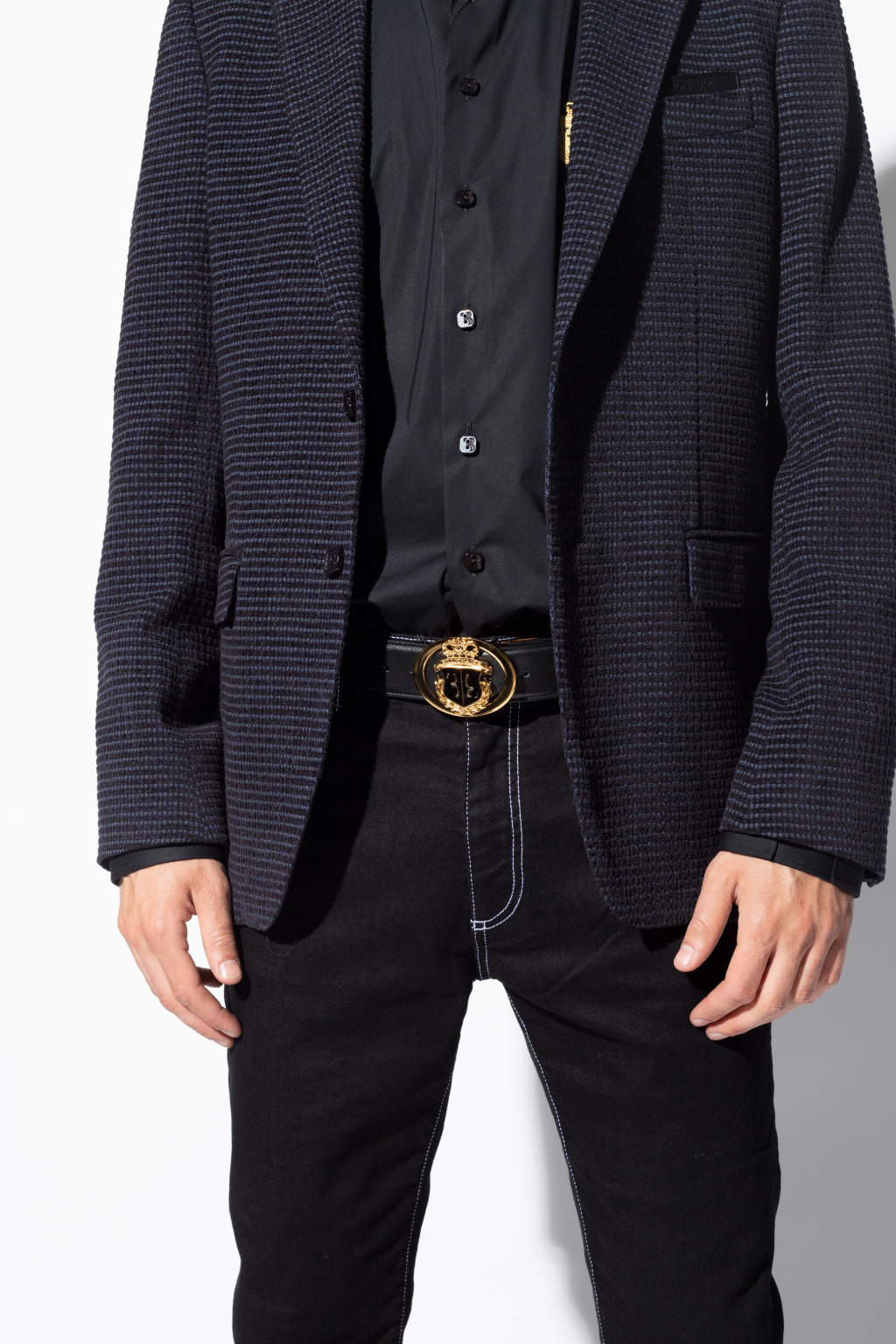 Billionaire Leather belt
