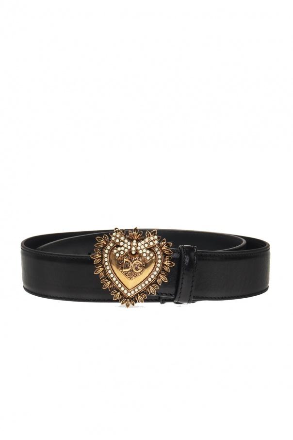 Dolce & Gabbana logo饰搭扣腰带