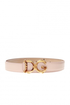 Belt with decorative buckle od Dolce & Gabbana