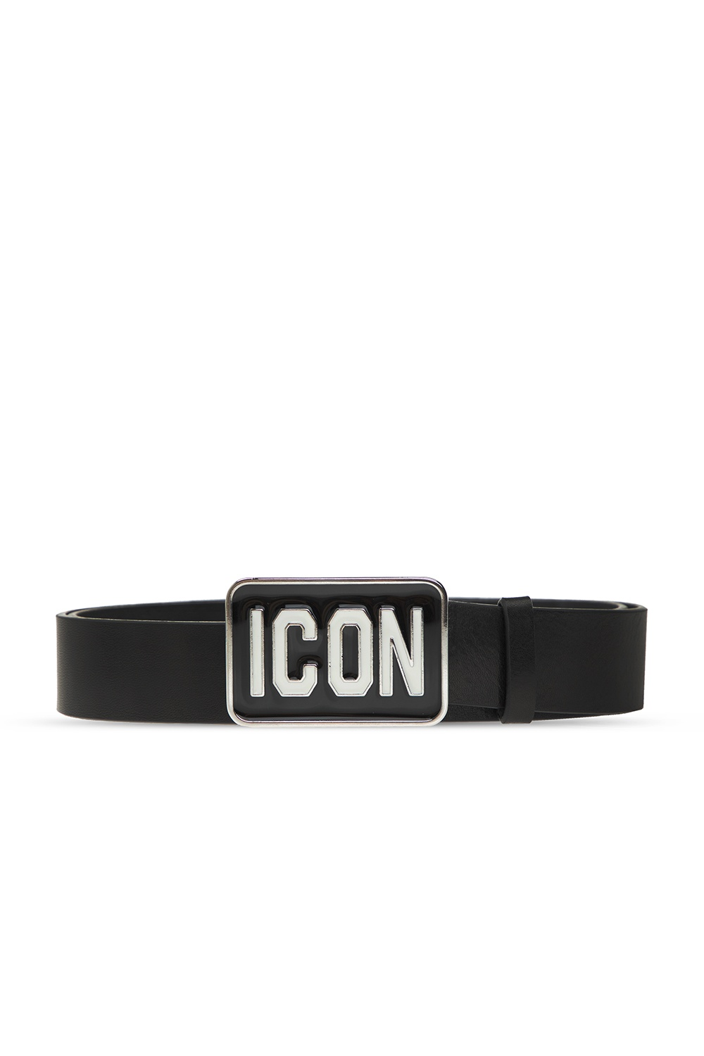 Dsquared2 Leather buckle belt