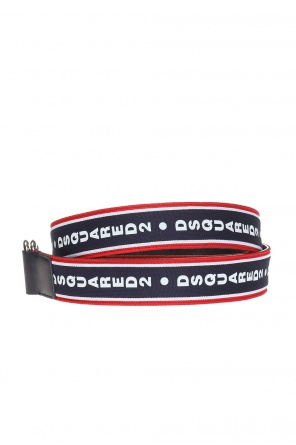 Belt with a printed logo od Dsquared2