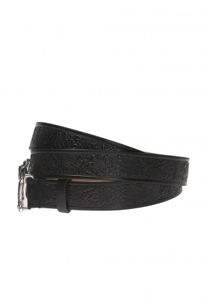 Belt with an embossed pattern od Dsquared2