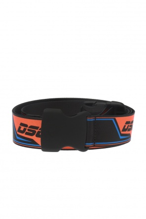 Patterned belt with logo od Dsquared2