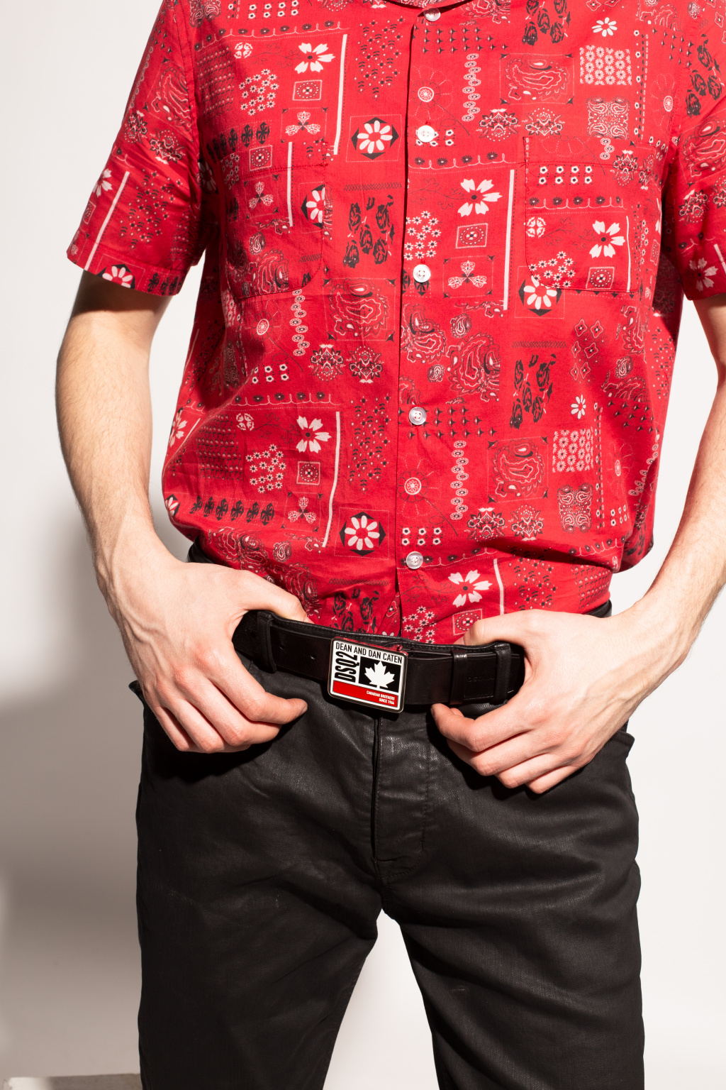 Dsquared2 Belt with decorative buckle