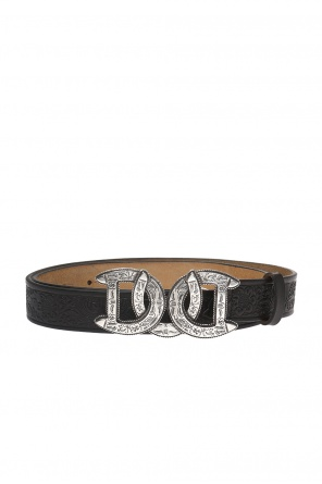 Patterned belt od Dsquared2